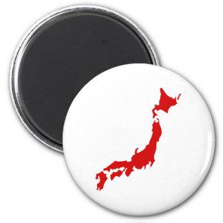 Mapa de Japón Iman