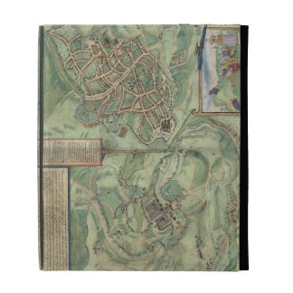 Mapa de Jerusalén, de 'Civitates Orbis Terrarum