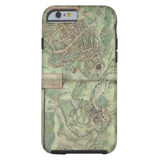 Mapa de Jerusalén, de 'Civitates Orbis Terrarum Funda De iPhone 6 Tough