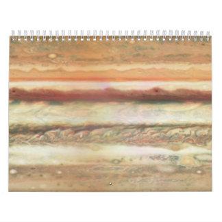Mapa de Júpiter - Unannotated Calendario