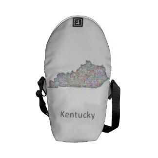 Mapa de Kentucky Bolsa De Mensajeria