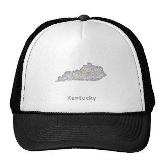 Mapa de Kentucky Gorras De Camionero