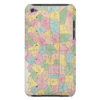 Mapa de Kentucky y de Tennessee iPod Case-Mate Protectores