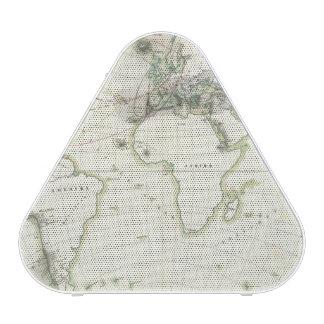 Mapa de la actividad volcánica altavoz