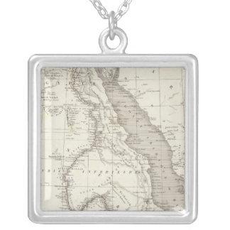Mapa de la África del Este Collares