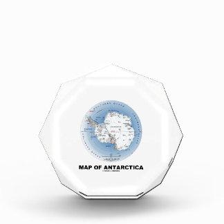 Mapa de la Antártida (geografía)