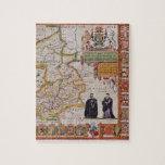 Mapa de la antigüedad de Cambridge Rompecabeza Con Fotos