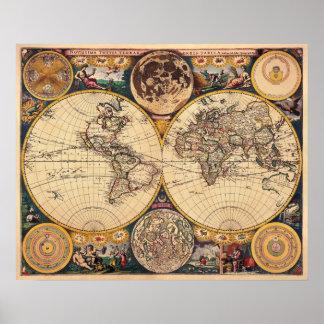 Mapa de la antigüedad de la reproducción del poste