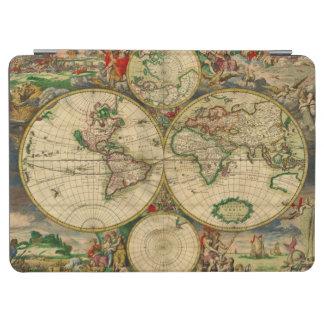 Mapa de la antigüedad de los mapas de Viejo Mundo Cover De iPad Air