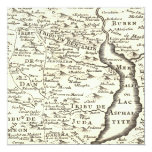 Mapa de la antigüedad de Mitzvah de la barra, Comunicado Personalizado