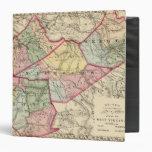 Mapa de la arcilla, Webster, Nicholas, condados de