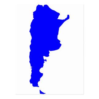 Mapa de la Argentina Postal