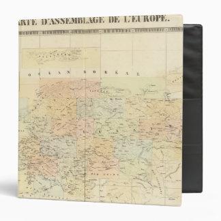 Mapa de la asamblea de Europa