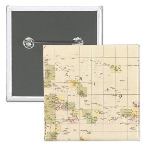 Mapa de la asamblea de Oceanía Pin