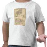 Mapa de la bahía de Casco Camiseta