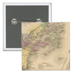 Mapa de la bahía de Casco Pin