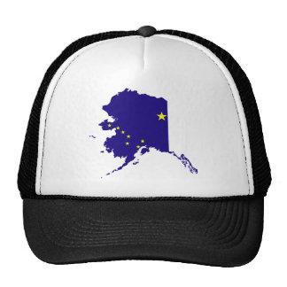 Mapa de la bandera de Alaska Gorro De Camionero
