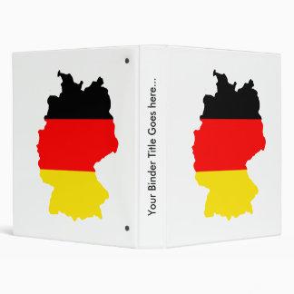 Mapa de la bandera de Alemania del mismo tamaño