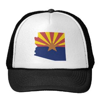 Mapa de la bandera de Arizona Gorro