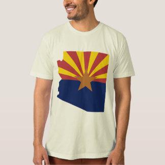 Mapa de la bandera de Arizona Playera