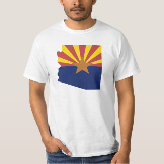 Mapa de la bandera de Arizona Remeras
