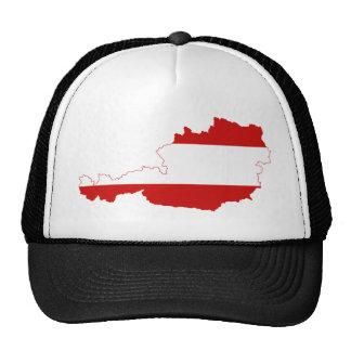Mapa de la bandera de Austria Gorro De Camionero