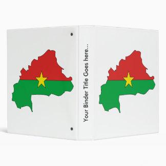 """Mapa de la bandera de Burkina del mismo tamaño Carpeta 1"""""""