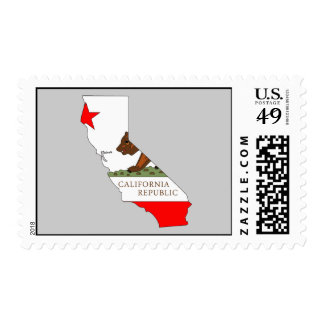 Mapa de la bandera de California Envio