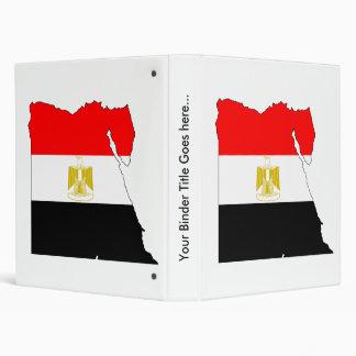 Mapa de la bandera de Egipto del mismo tamaño