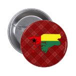 Mapa de la bandera de Guinea-Bissau del mismo tama Pin