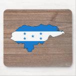 Mapa de la bandera de Honduras del equipo en la Mouse Pad