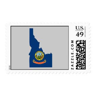 Mapa de la bandera de Idaho Envio