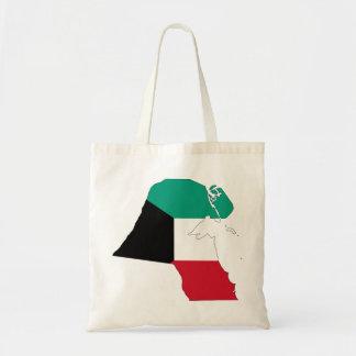 Mapa de la bandera de Kuwait Bolsas