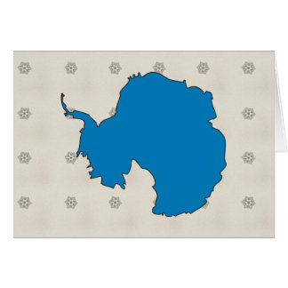 Mapa de la bandera de la Antártida del mismo tamañ Felicitacion