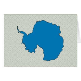 Mapa de la bandera de la Antártida del mismo tamañ Tarjeton