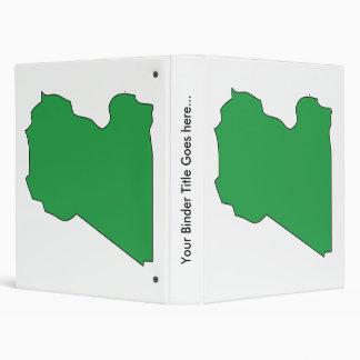 Mapa de la bandera de Libia del mismo tamaño