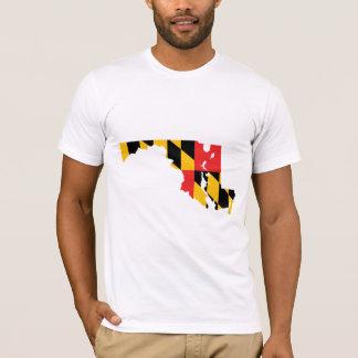 Mapa de la bandera de Maryland Playera