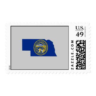 Mapa de la bandera de Nebraska Envio