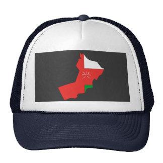 Mapa de la bandera de Omán Gorras De Camionero