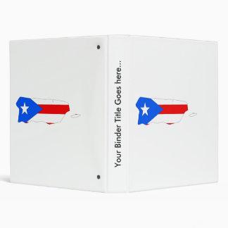 """Mapa de la bandera de Puerto Rico del mismo tamaño Carpeta 1"""""""
