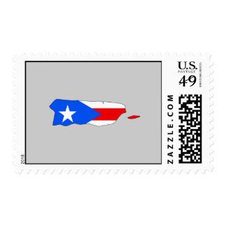 Mapa de la bandera de Puerto Rico Envio