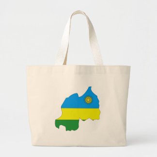 Mapa de la bandera de Rwanda Bolsa