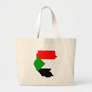 Mapa de la bandera de Sudán Bolsa