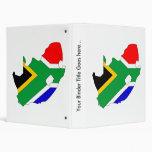Mapa de la bandera de Suráfrica del mismo tamaño
