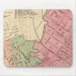 Mapa de la ciudad 1877 de Petaluma Tapete De Raton