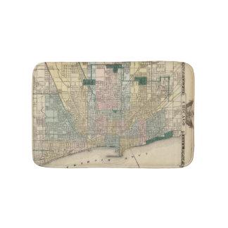 Mapa de la ciudad de Chicago