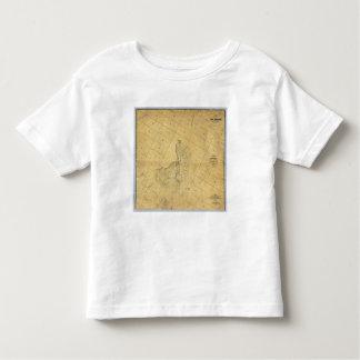 Mapa de la ciudad de Los Ángeles Tee Shirts