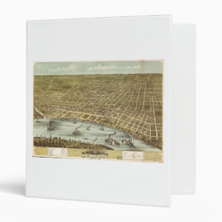 "Mapa de la ciudad de Memphis Tennessee (1870) Carpeta 1"""