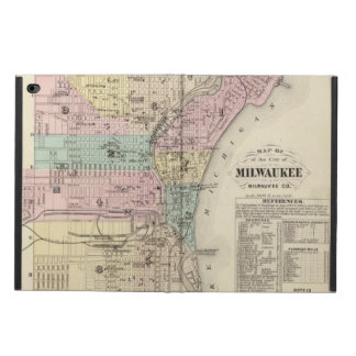 Mapa de la ciudad de Milwaukee, Milwaukee Co