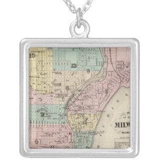 Mapa de la ciudad de Milwaukee, Milwaukee Co Collar